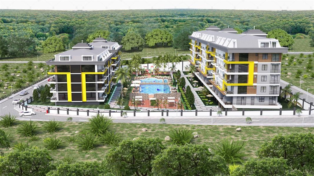 Квартиры в строящемся жилом комплексе район Кестель - Фото 12