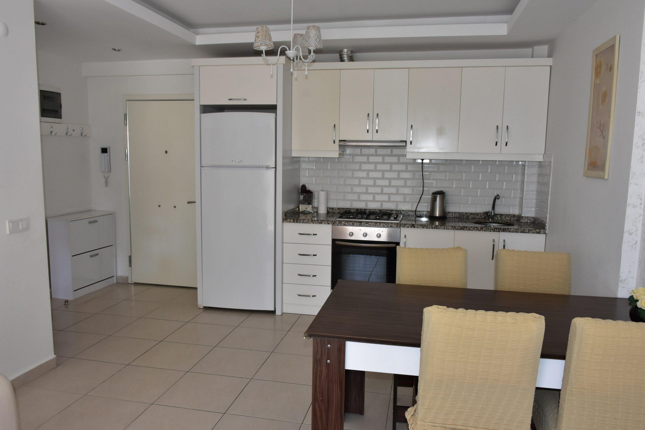 Двухкомнатная квартира с мебелью в посёлке Авсаллар - Фото 8