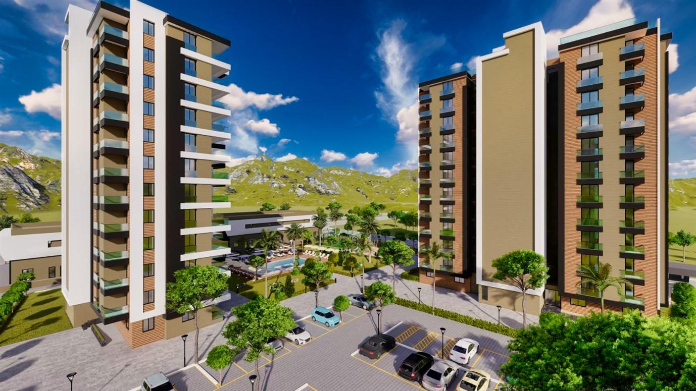 Квартиры в строящемся жилом комплексе в микрорайоне Алтынташ - Фото 1
