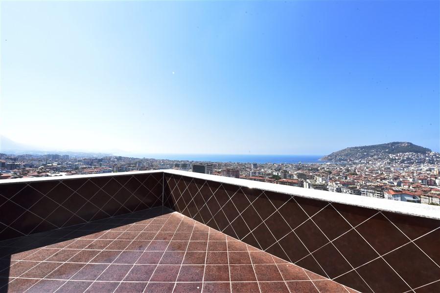 Меблированный пентхаус 3+1 с панорамным видом на Аланью - Фото 31