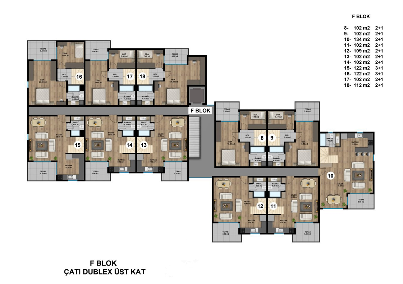 Роскошные квартиры в новом жилом комплексе с инфраструктурой - Фото 20