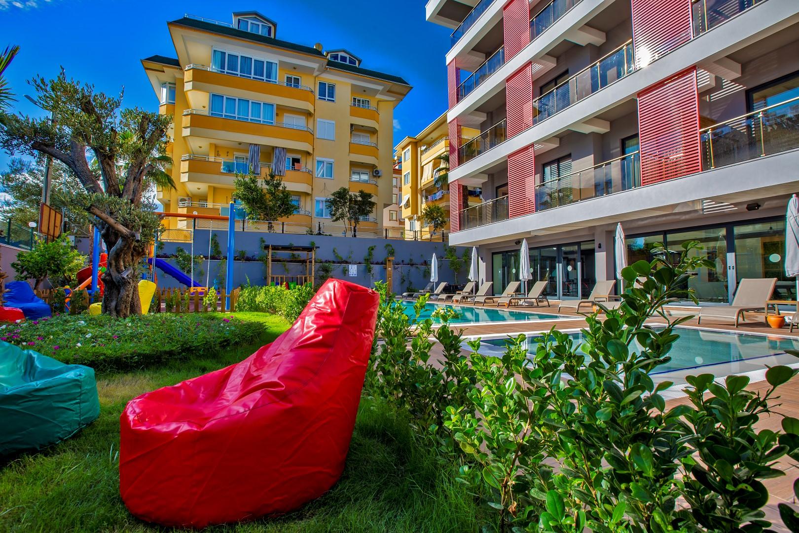 Новые квартиры разных планировок в центре Алании - Фото 2