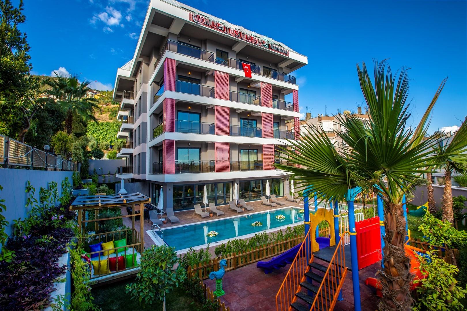 Новые квартиры разных планировок в центре Алании - Фото 1