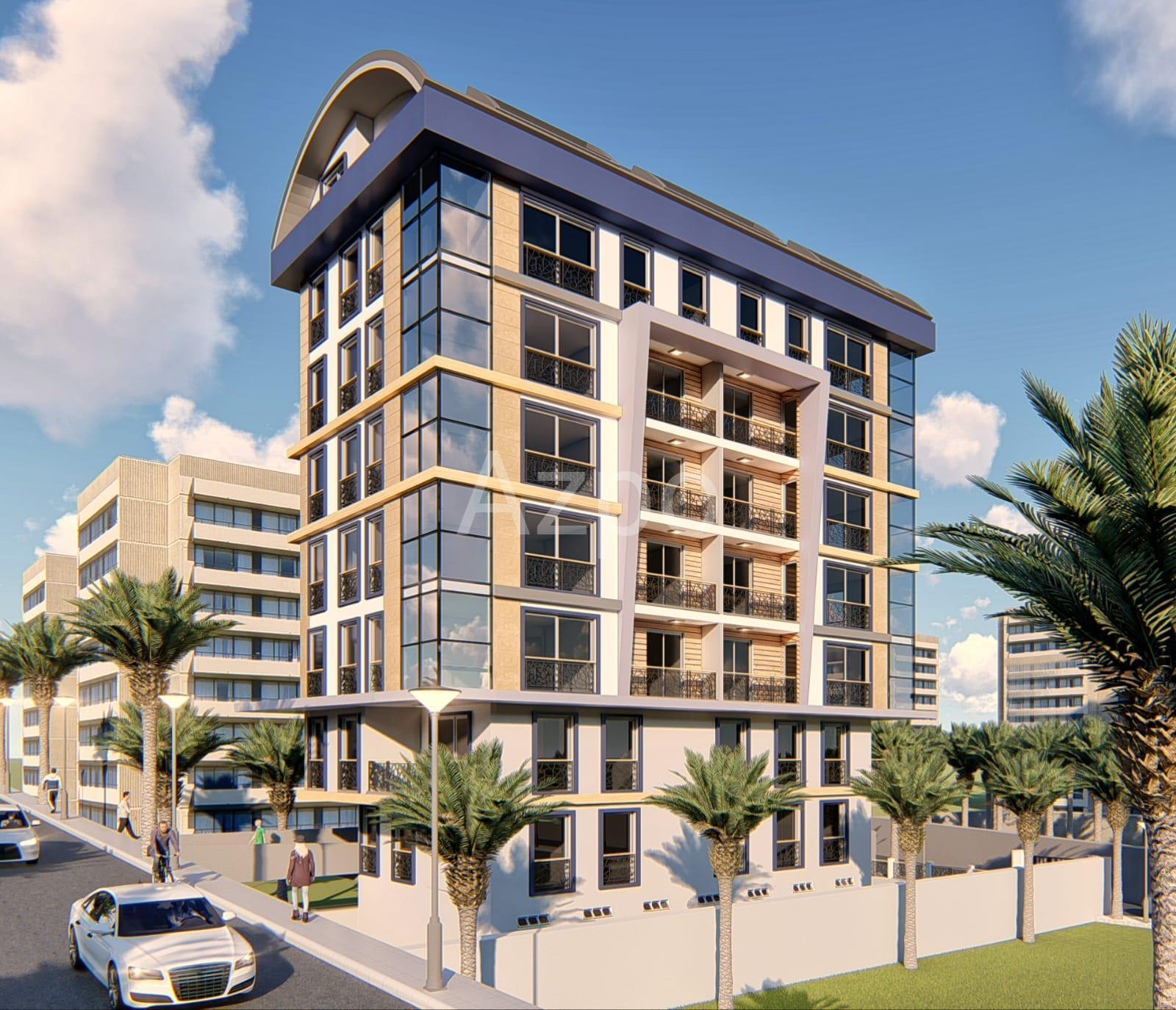 Апартаменты в строящемся комплексе Аланья центр - Фото 2