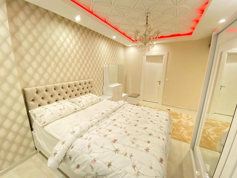 Меблированная квартира 2+1 с видом на Средиземное море - Фото 20