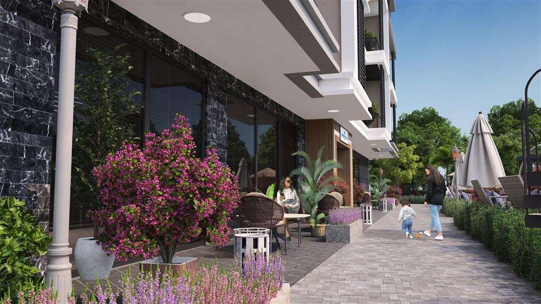 Современные квартиры и пентхаусы в посёлке Авсаллар - Фото 5