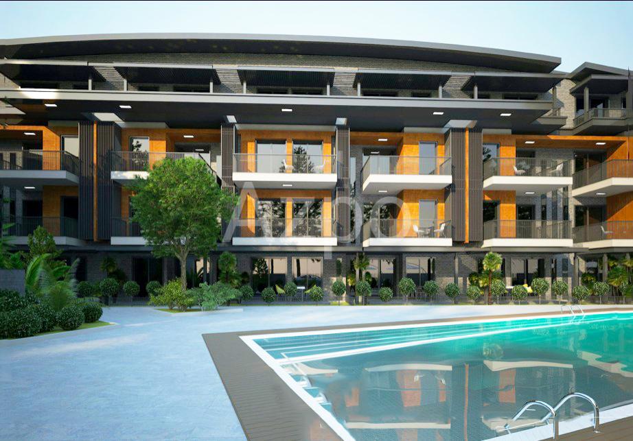 Квартиры 1+1 в инвестиционном проекте в Гюзельоба Лара - Фото 7