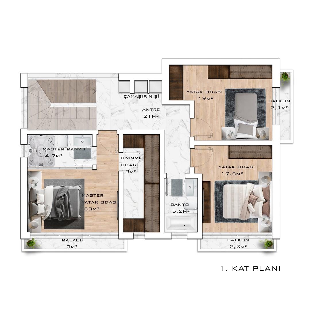 Инвестиционный проект жилого комплекса частных вилл в посёлке Авсаллар - Фото 24