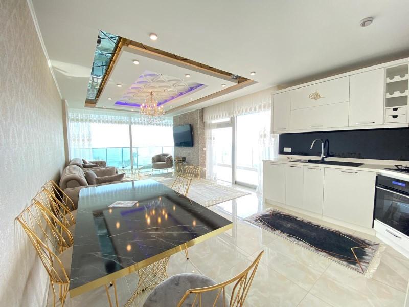 Меблированная квартира 2+1 с видом на Средиземное море - Фото 10