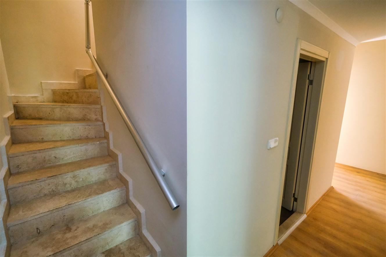 Двухуровневая квартира 3+1 с мебелью в Кемере - Фото 30