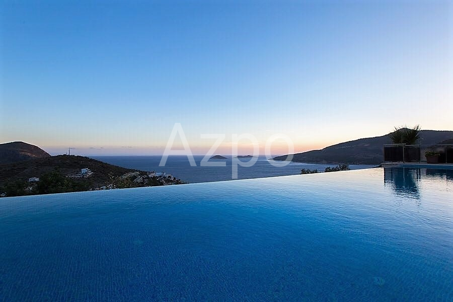 Роскошная вилла 5+1 с видом на Средиземное море - Фото 10