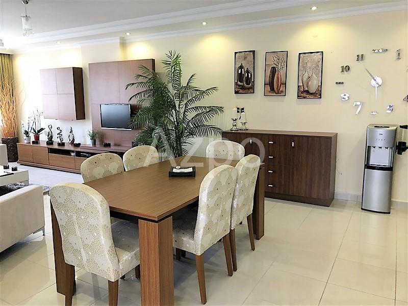 Трехкомнатная квартира с мебелью в  Махмутларе - Фото 7