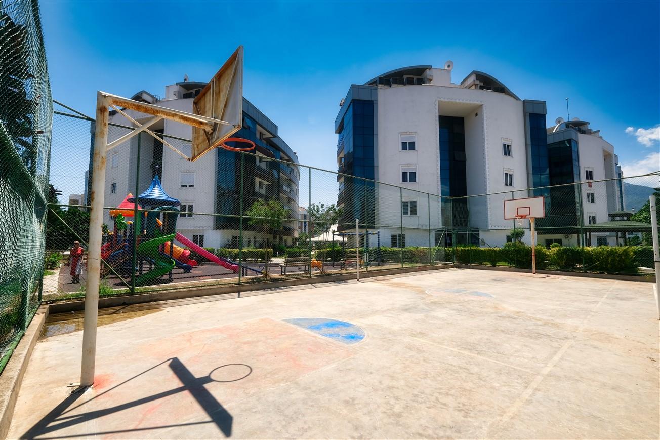 Двухкомнатная квартира с мебелью в элитном комплексе района Коньяалты - Фото 25