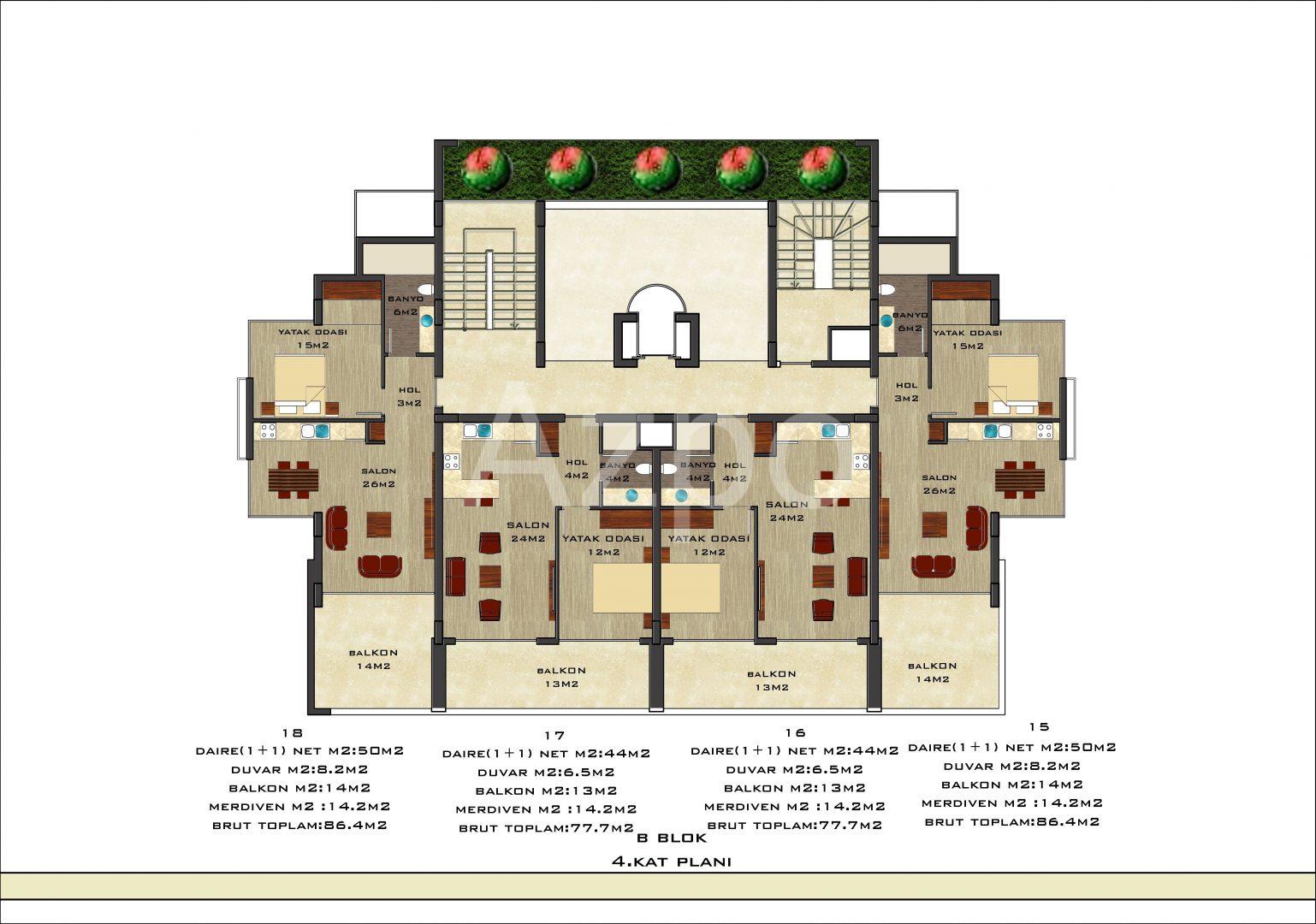 Апартаменты разных планировок от известного застройщика - Фото 22