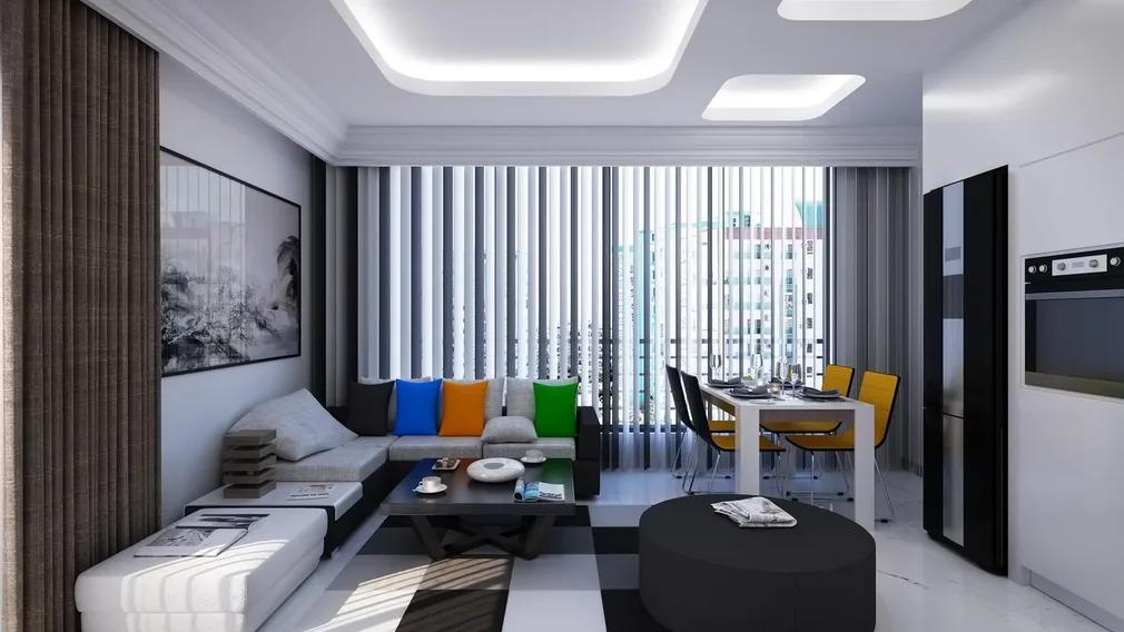 Элитные квартиры в новом проекте жилого комплекса в Махмутларе - Фото 15