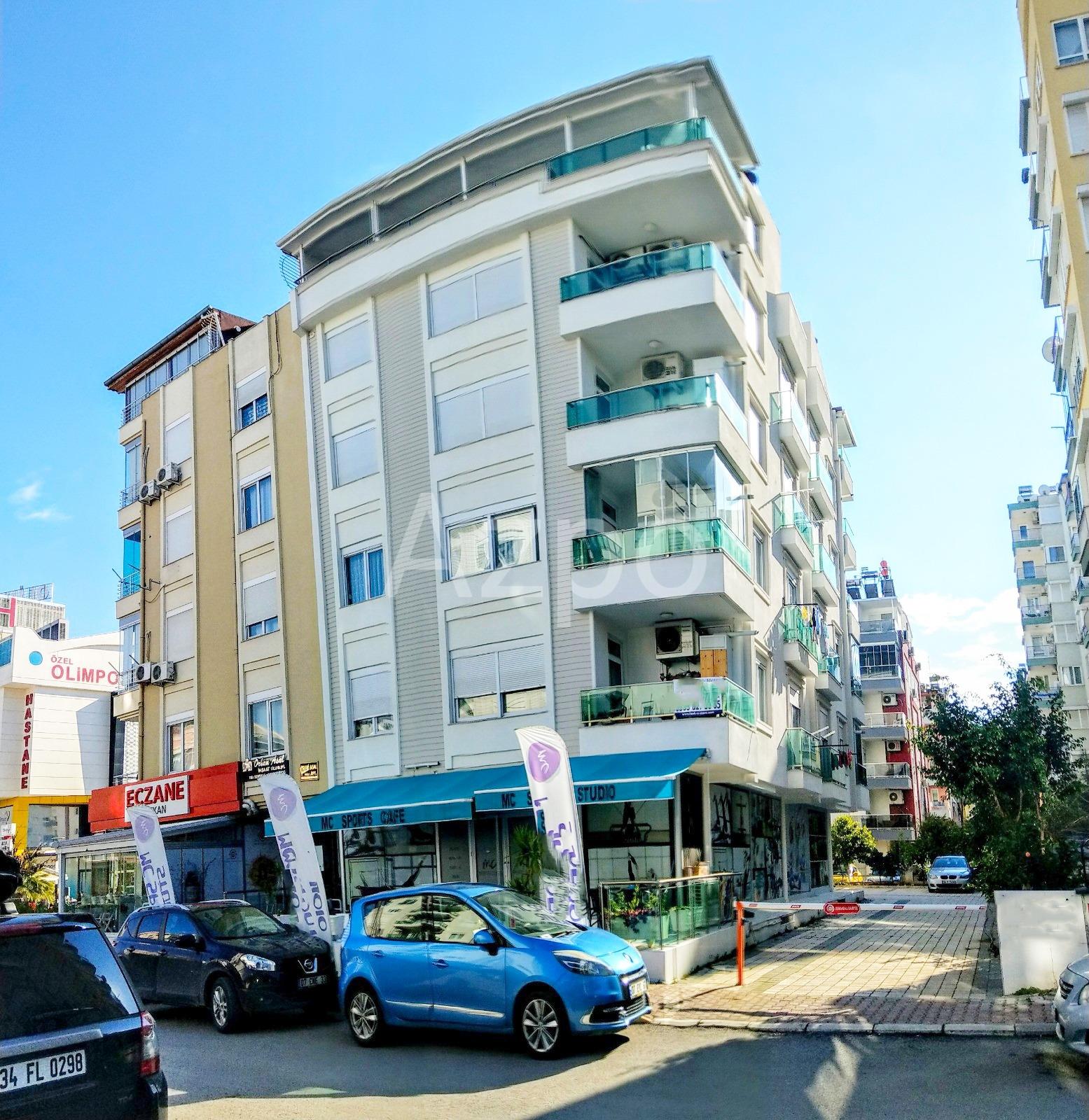 Привлекательная квартира 2+1 с мебелью Анталья - Фото 1