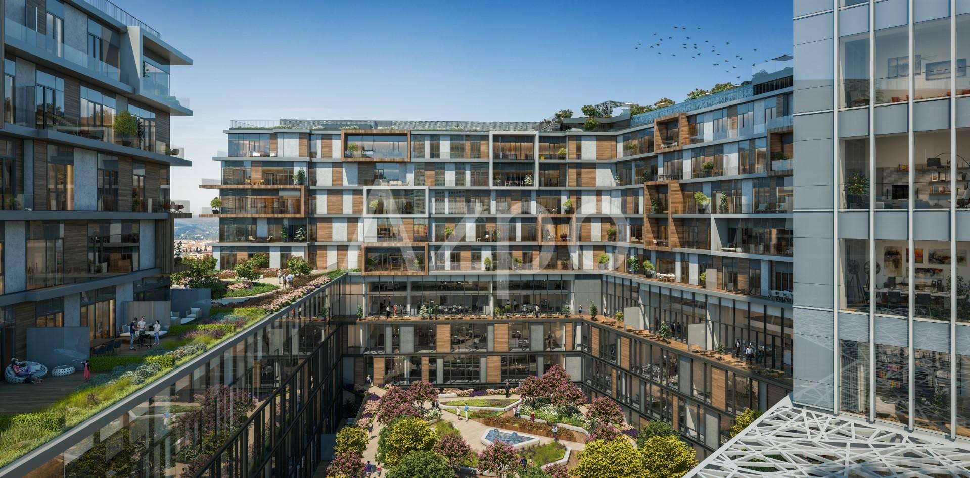 Квартиры в резиденции premium класса в центре Стамбула - Фото 17