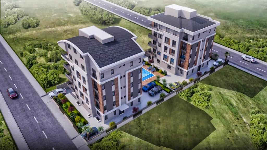 Квартиры в жилом комплексе на этапе строительства - Фото 1