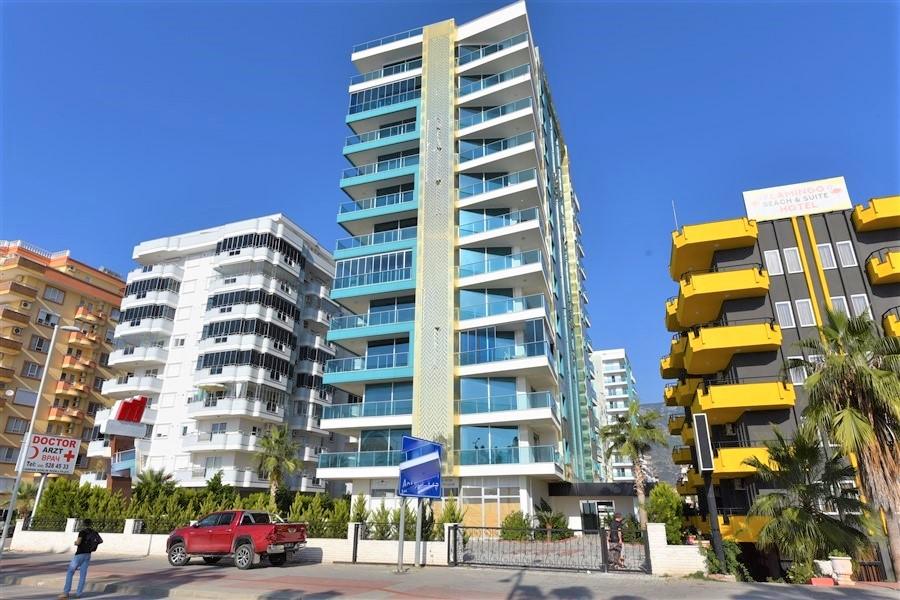 Меблированная квартира 2+1 с видом на Средиземное море - Фото 1