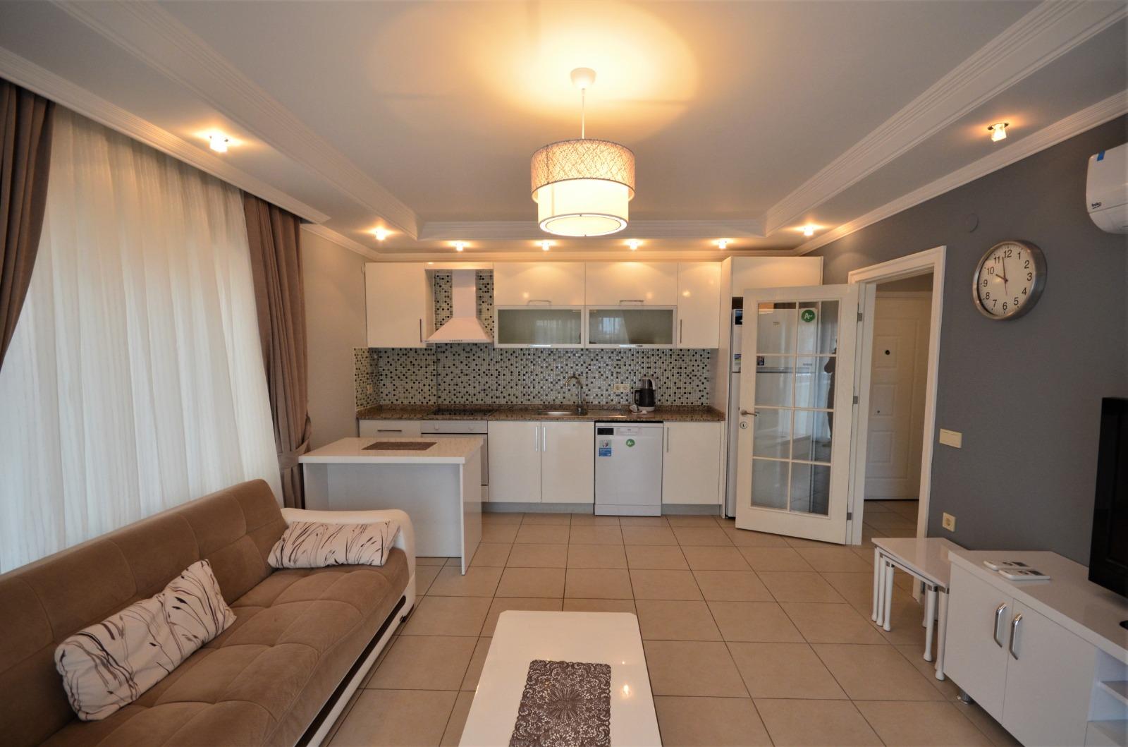 Двухкомнатная квартира с мебелью и бытовой техникой в районе Тосмур - Фото 4