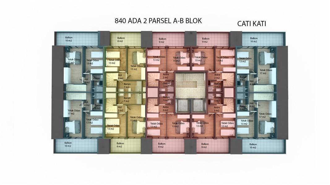 Квартиры в строящемся жилом комплексе район Кестель - Фото 38