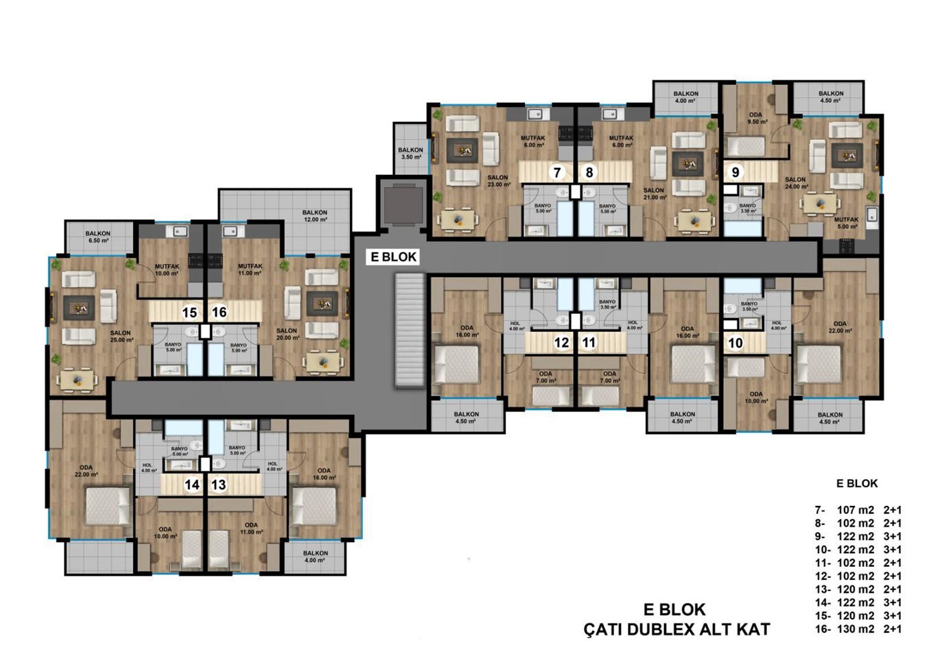 Роскошные квартиры в новом жилом комплексе с инфраструктурой - Фото 21
