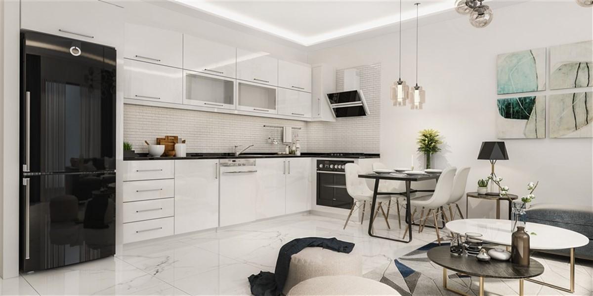 Двухкомнатная квартира в новом комплексе район Оба - Фото 16
