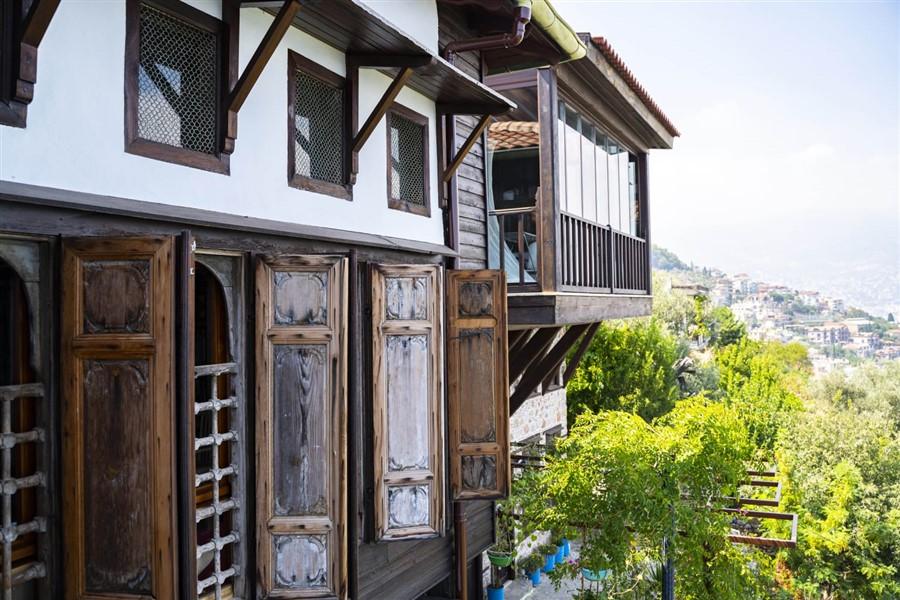 Эксклюзивный особняк 6+1 эпохи османской империи в центре Аланьи - Фото 9