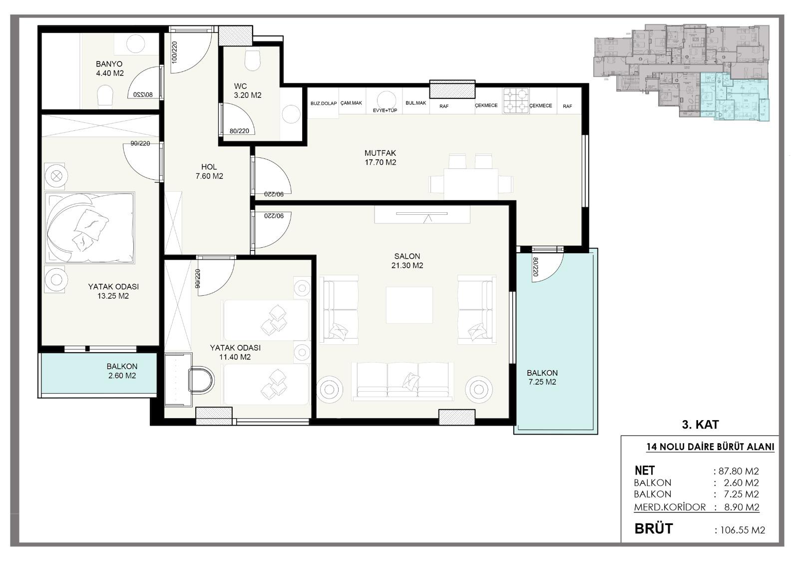 Новые квартиры в центральном районе Аланьи - Фото 7