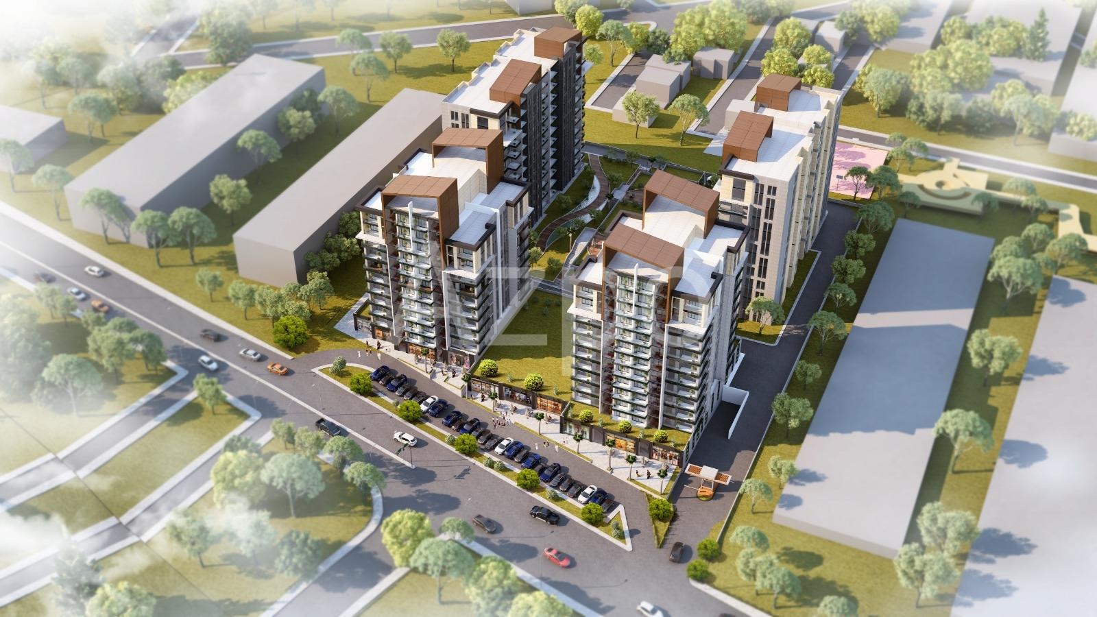 Проект 12-этажного комплекса в Басын Экспресс - Фото 1