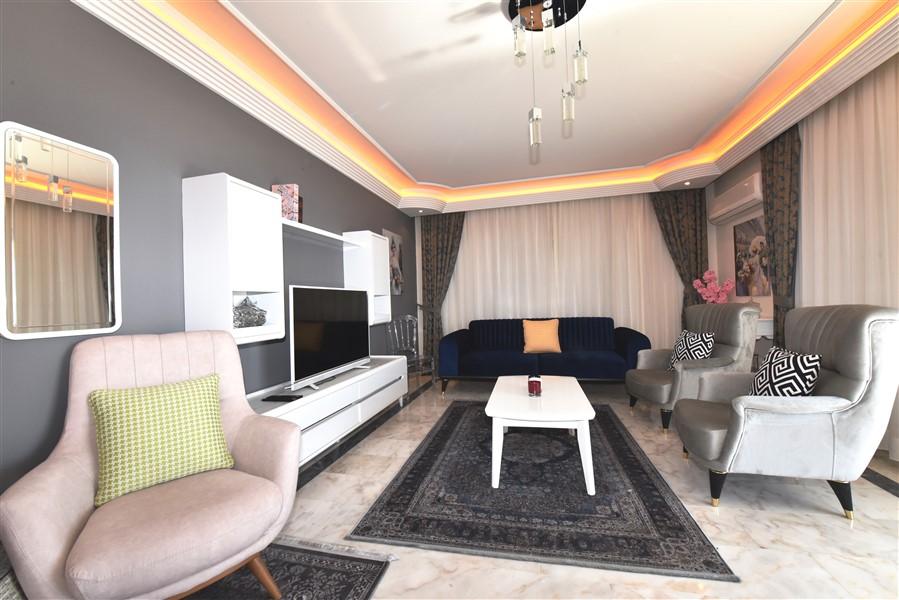 Квартира 2+1 на первой береговой линии в Махмутларе - Фото 9
