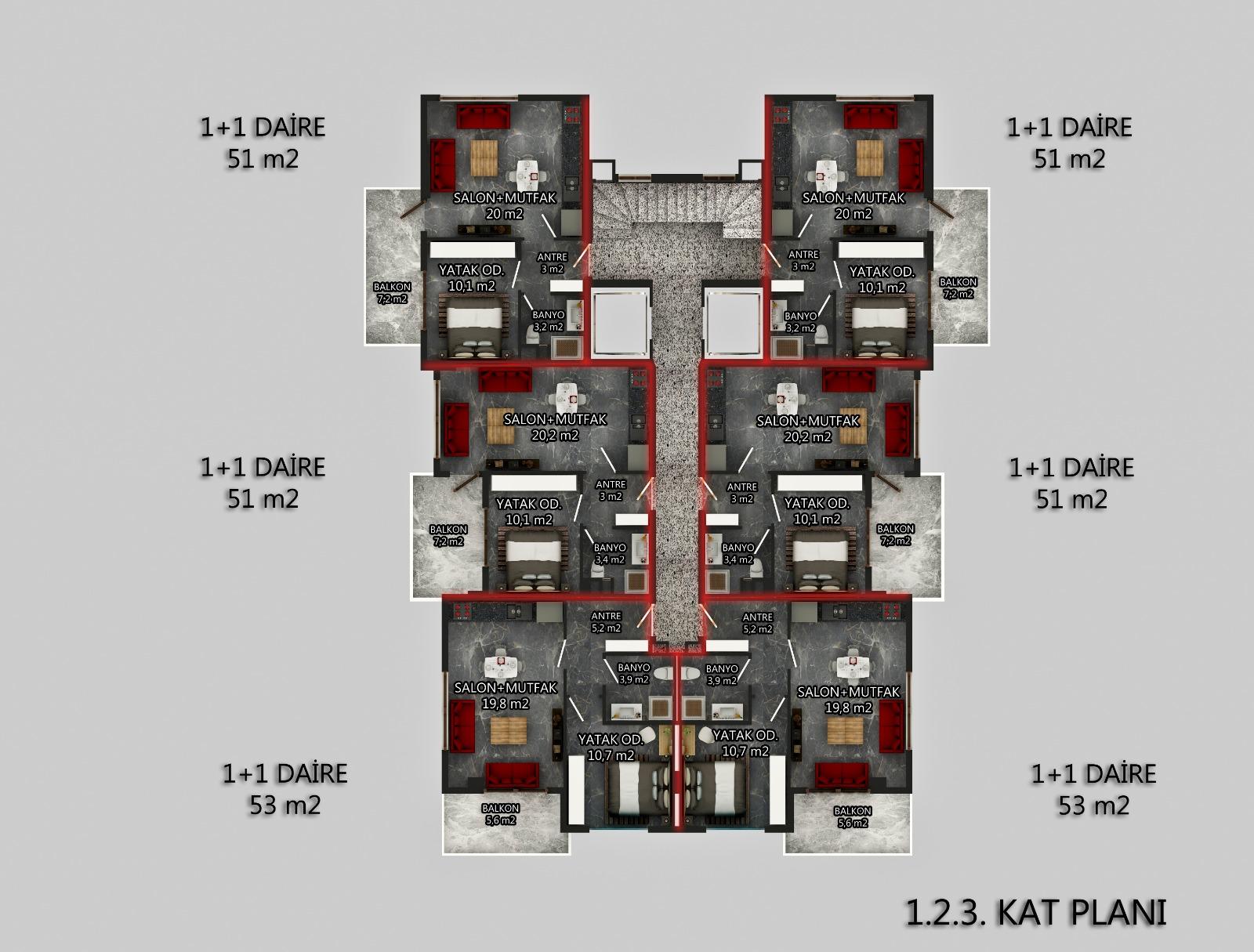 Комфортабельные квартиры в жилом комплексе на этапе строительства - Фото 7