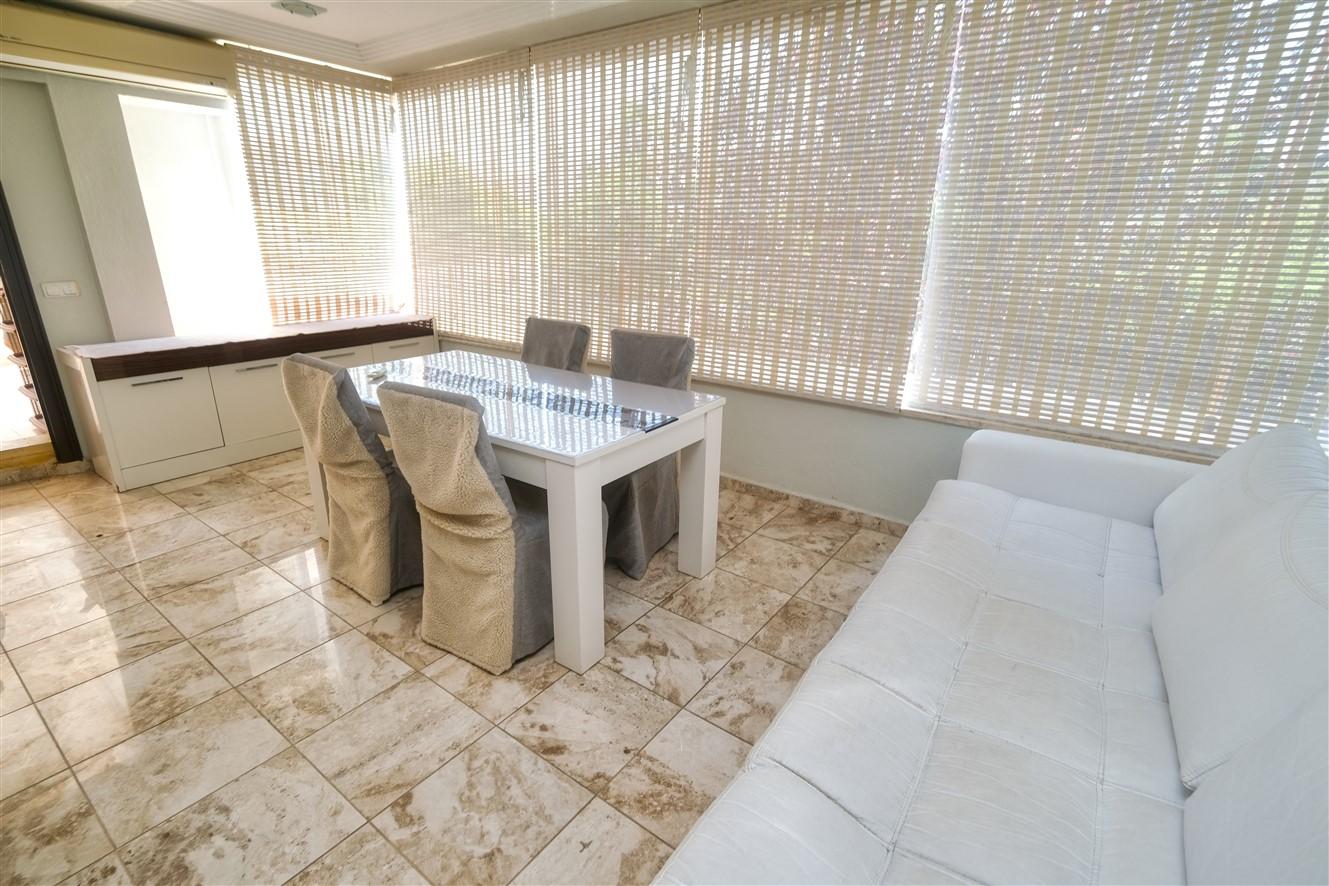 Двухуровневая квартира 3+1 с мебелью в Кемере - Фото 19