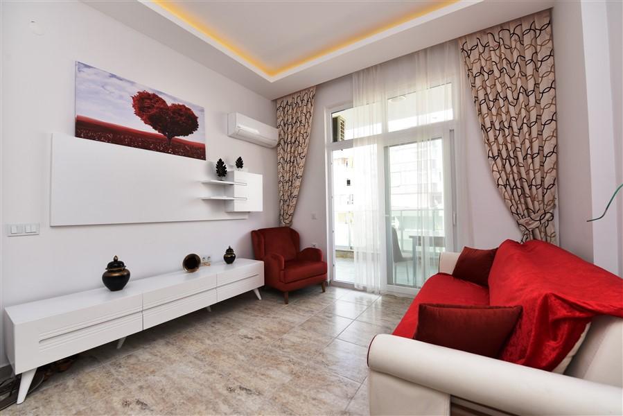 Меблированная квартира 1+1 в центре Махмутларa - Фото 5