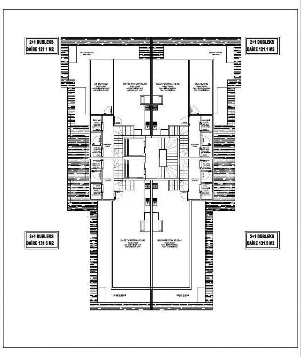Строящийся комплекс в центре Алании с рассрочкой - Фото 20