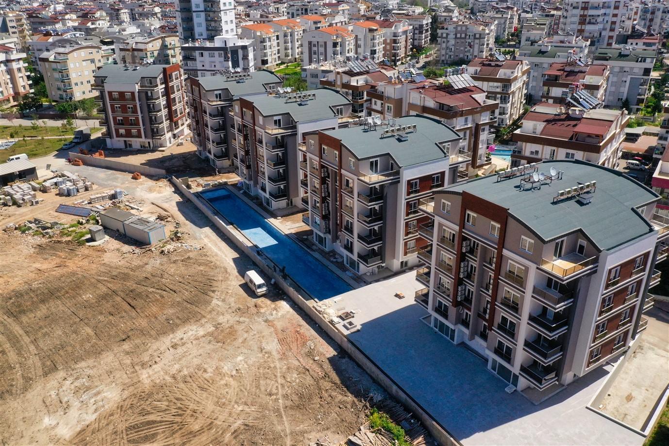Новая двухкомнатная квартира в районе Коньяалты - Фото 3
