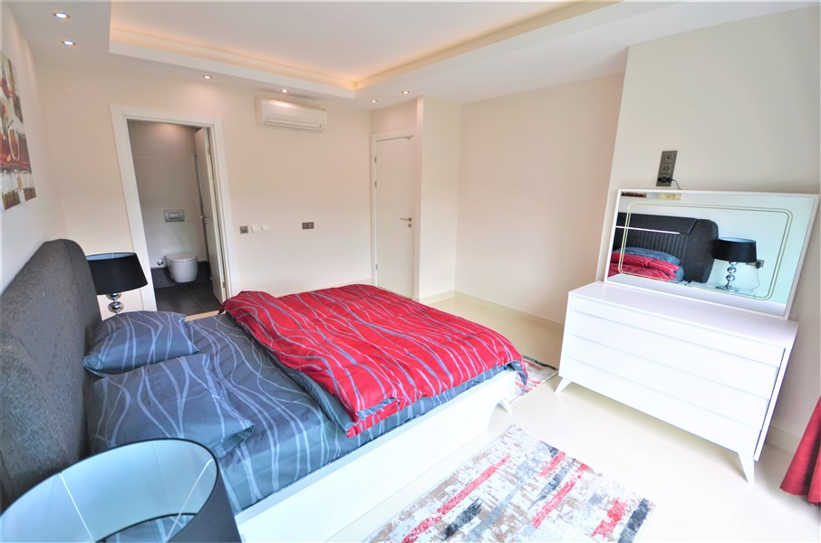 Меблированная квартира 2+1 с видом на Средиземное море - Фото 35