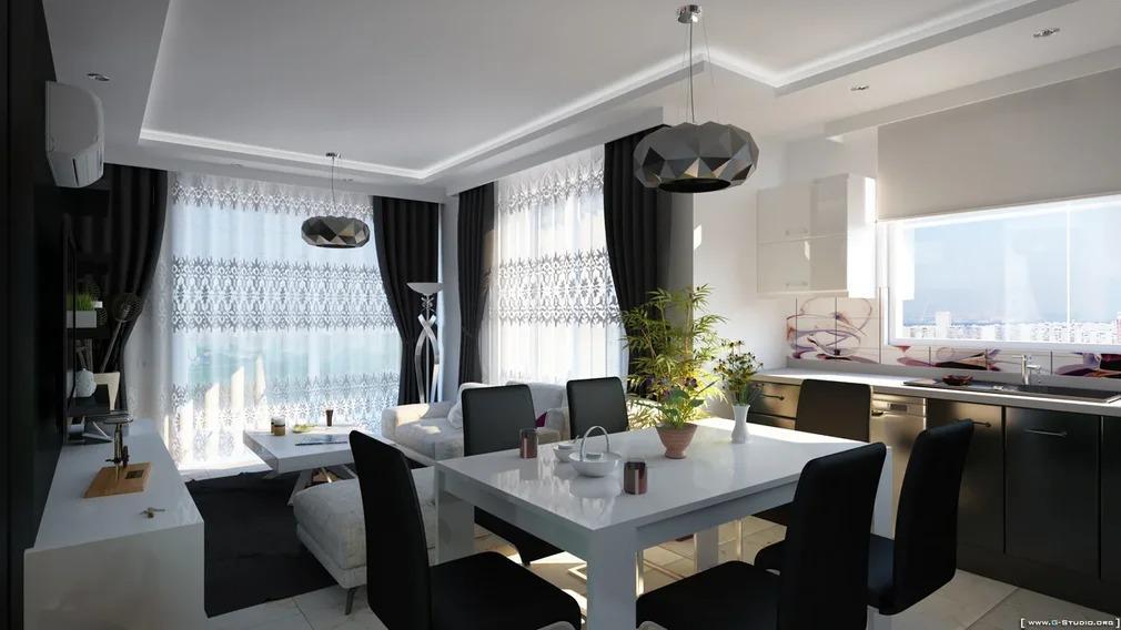 Элитные квартиры в новом проекте жилого комплекса в Махмутларе - Фото 12