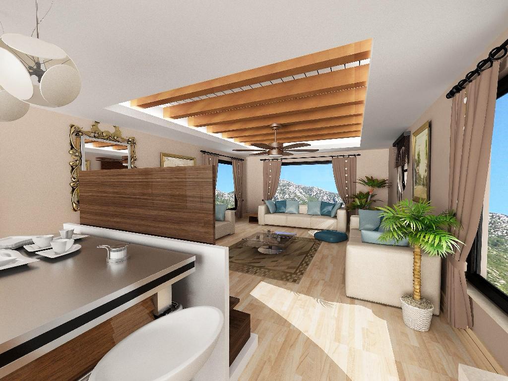 Просторная вилла с 4 спальнями в Узюмлю Фетхие - Фото 20