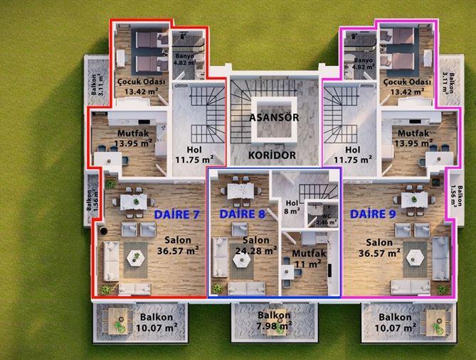 Проект комфортабельного жилого комплекса с инфраструктурой - Фото 18