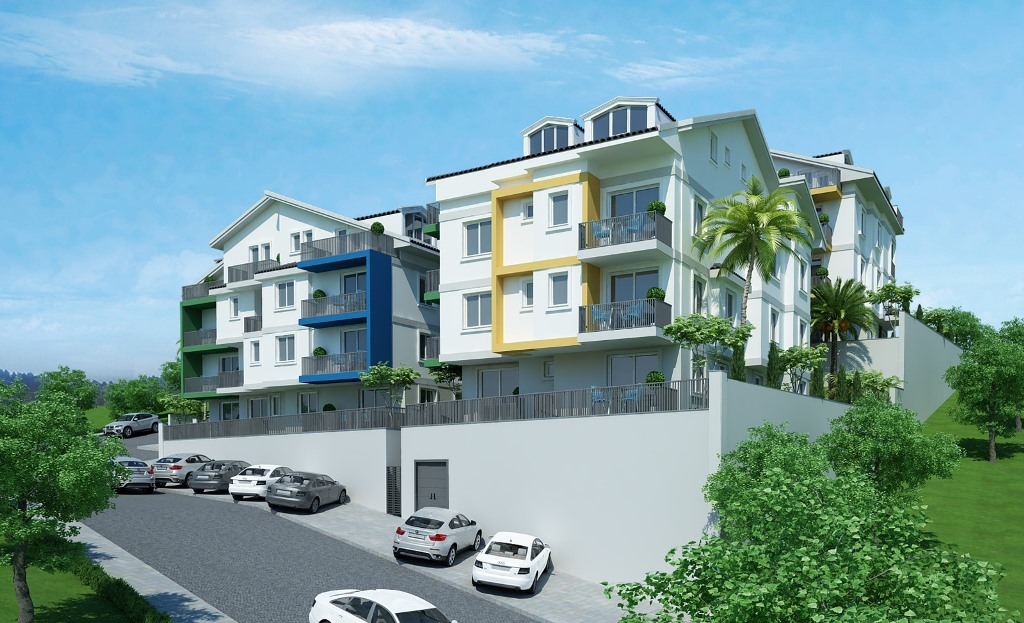 Двухкомнатные квартиры в строящемся комплексе Фетхие - Фото 7
