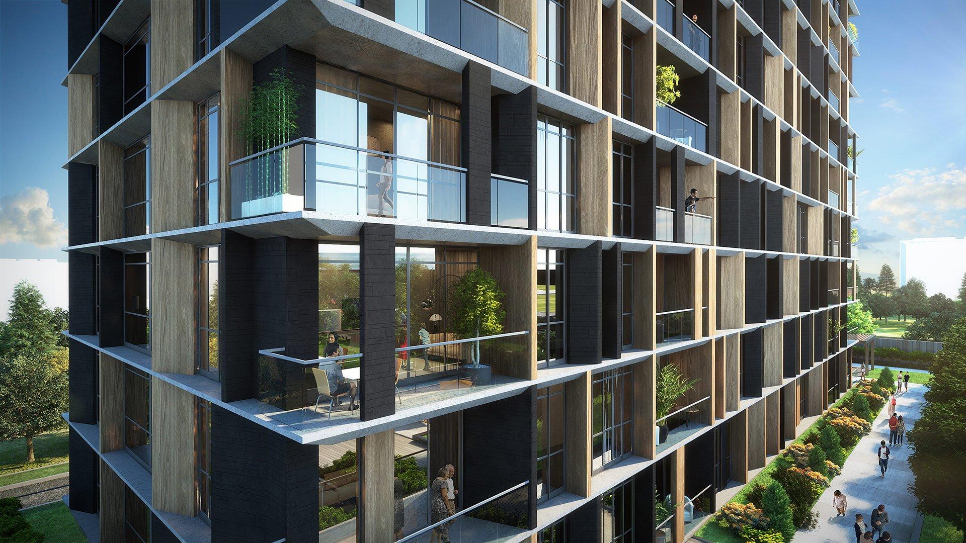 Трёхкомнатные квартиры в готовом проекте Стамбул - Фото 3