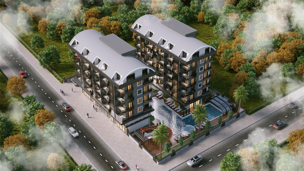 Квартиры в строящемся элитном комплексе в районе Каргыджак - Фото 11