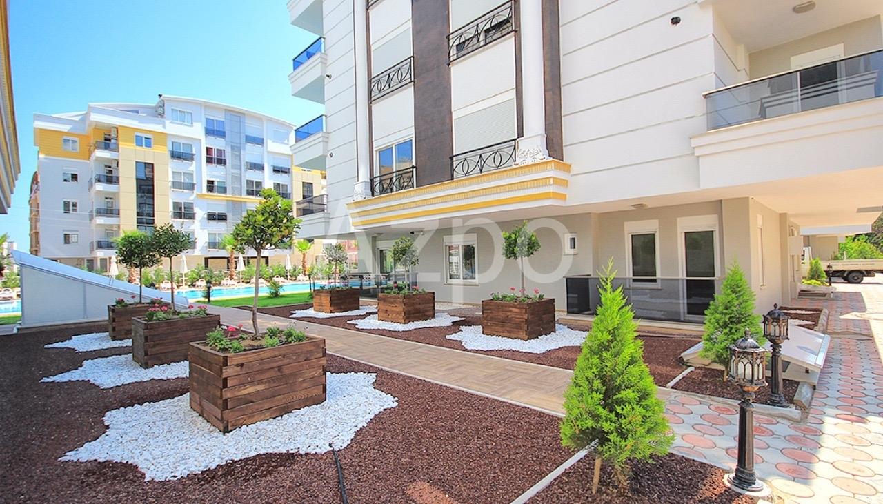 Квартиры 1+1 и 2+1 в комплексе в районе Хурма Коньяалты Анталия - Фото 15
