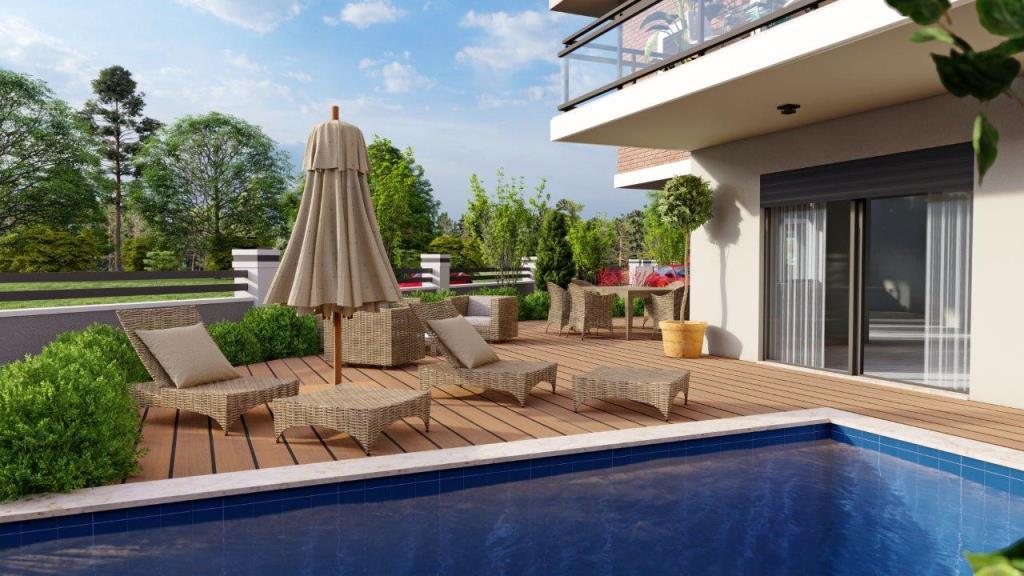 Частная вилла 5+1 с бассейном в городе Фетхие - Фото 11