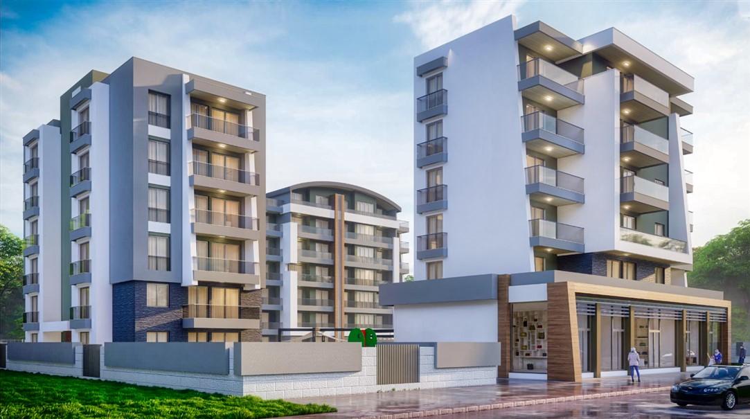 Квартиры в строящемся комплексе в районе Аксу-Алтынташ - Фото 1