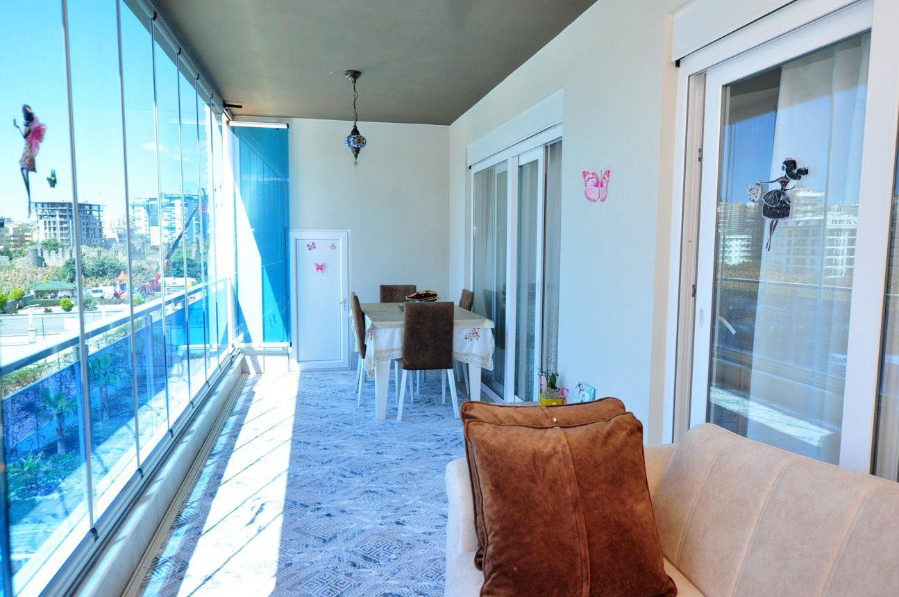 Двухкомнатная квартира с мебелью в Махмутларе - Фото 19