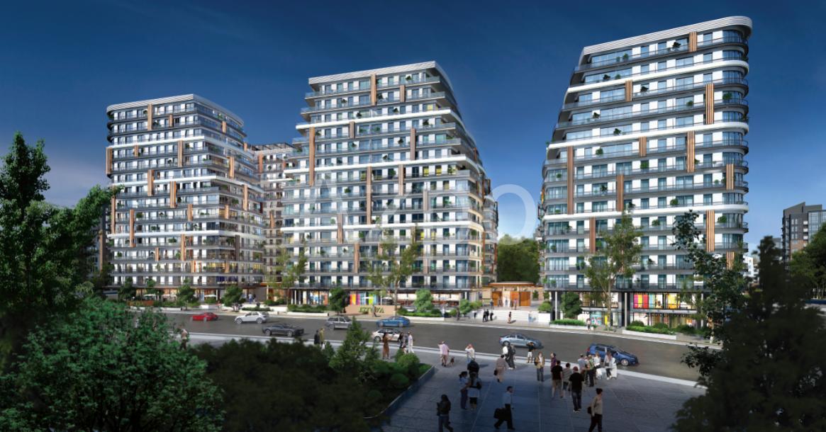 Квартиры в новом готовом комплексе в Стамбуле - Фото 9