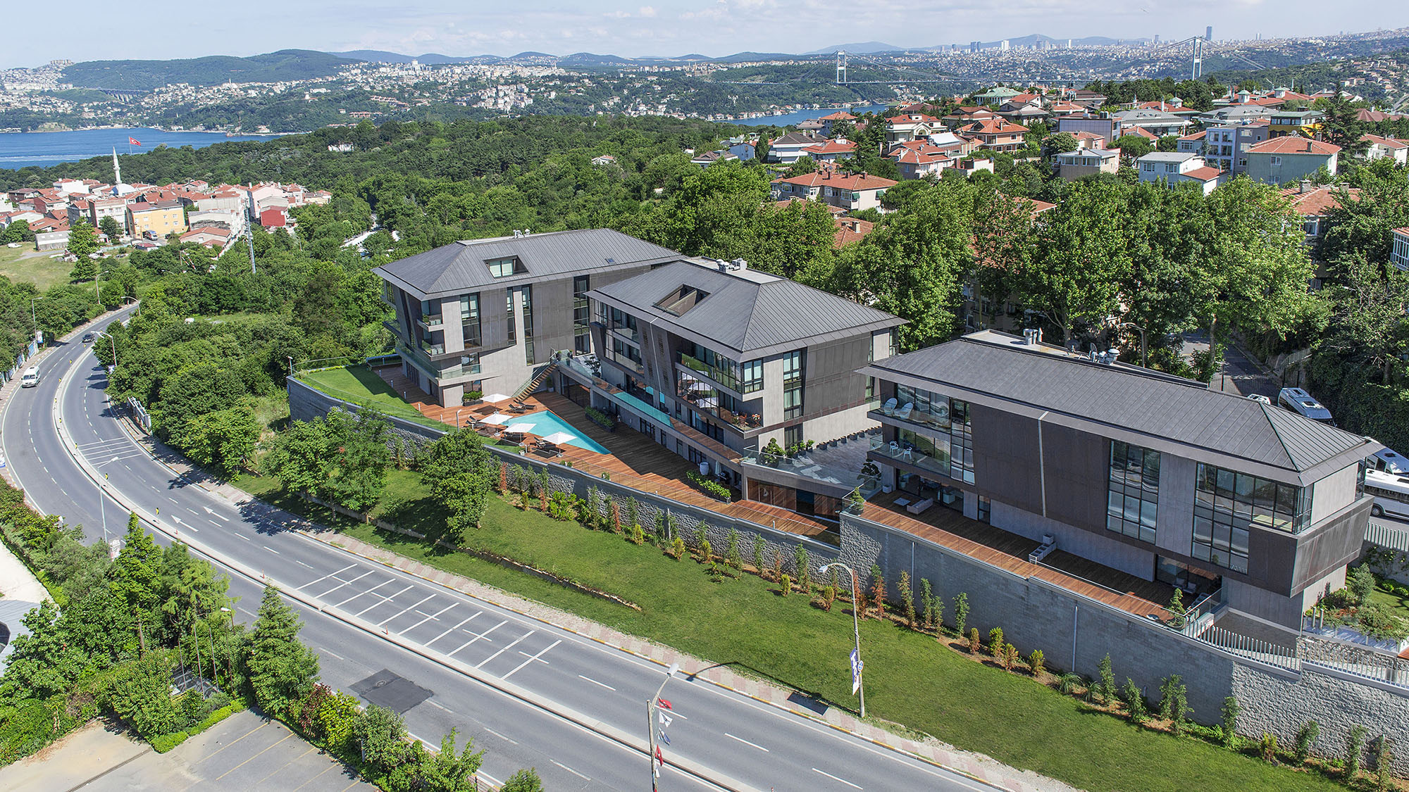 Элитные квартиры в районе Сарыер Стамбул