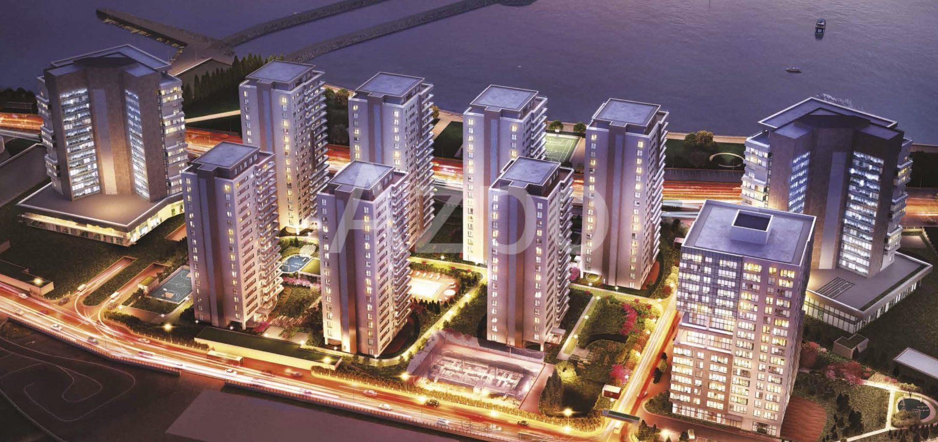 Квартиры в новом жилом комплексе у берега Мраморного моря - Фото 4
